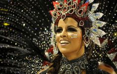 Musas do Carnaval de Rio de Janeiro.  Queen of the Drums for my favorite Samba School, Mangueira!