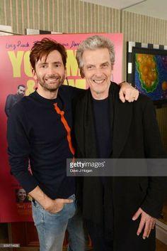 David Tennant and Peter Capaldi
