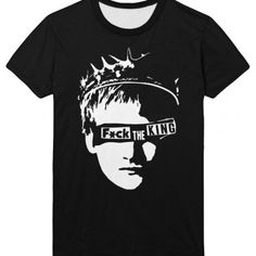 Fuck the King Joffrey Tee Shirt Apparel Game of thrones | IdolStore