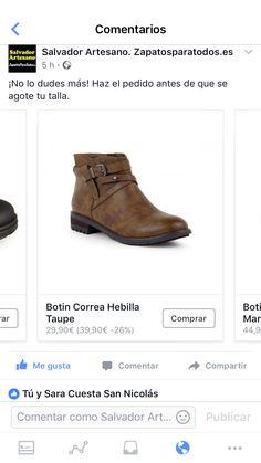 Descubre todas nuestras ofertas en la zona outlet, tienda online o webshop www.zapatosparatodos.es