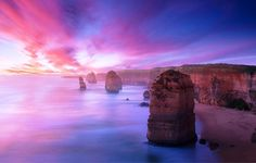 This Australian landscape is biblical in more than its name; the limestone stacks that comprise the Twelve Apostles are other worldly.