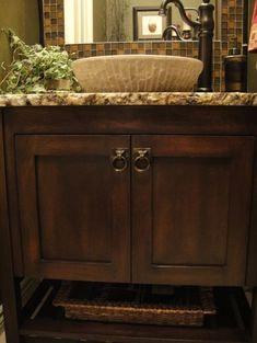 Traditional Home Vessel Sink Vanities With Legs Design, Pictures, Remodel, Decor and Ideas