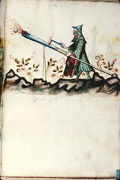 Konrad Kyeser: Bellifortis. Germany ca 1401-1450. Bibliothèque municipale de Besançon, BM MS.1360, Folio 121r