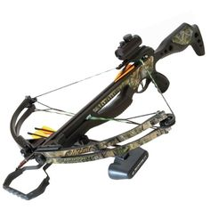 Barnett Jackal Crossbow Package (Quiver , 3 - 20-Inch Arrows and Premium Red Dot Sight): Sports & Outdoors