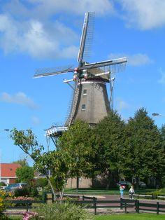 Molen De EENDRACHT Anjum. Friesland The Netherlands