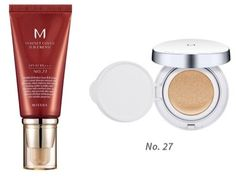 MISSHA M Perfect Cover BB Cream SPF 42 PA 27 Honey Beige Bundle with M Magic Cushion SPF50PA No27 -- Click image for more details.