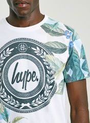 Hype White Floral T-Shirt*