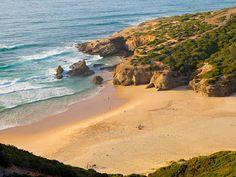 #Beach Praia da Murração, Algarve, Portugal | via http://blog.turismodoalgarve.pt