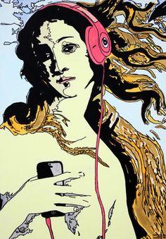 Saatchi Online Artist Eduardo Bessa Rodrigues; Painting, Music is what feelings sound like - III #art