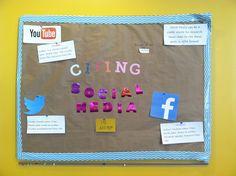 Writing Center Bulletin Board: Citing Social Media