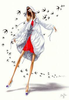 Fashion Illustrator Arturo Elena