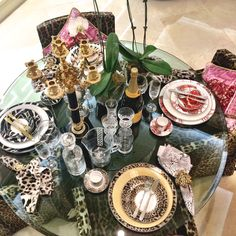 Tableware Collection #robertocavalli