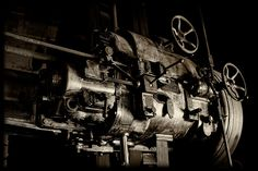 Old machinery 3, via Flickr.