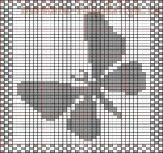 Butterfly Dish Or Face Cloth Knitting Pattern - Knitting Charts Dishcloth Knitting Patterns, Arm Knitting, Knitting Charts, Knitting Stitches, Crochet Patterns, Crochet Diagram, Crochet Chart, Beaded Cross Stitch, Cross Stitch Patterns