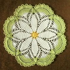 Proceeds to Charity Crochet Doily Handmade by PussyWillowCrochet