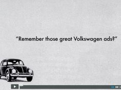 Video Remember those great Volkswagen ads? Volkswagen, Ads, Pictures, Inspiration, Photo Illustration, Paintings, Inspirational