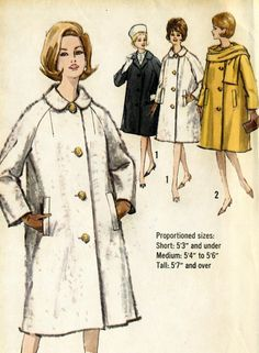 Vintage 60s Simplicity 5148 Misses Proportioned by RomasMaison
