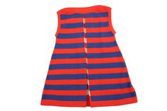 Knitted dress from pima cotton.