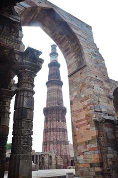 Qutub Minar, New Delhi !