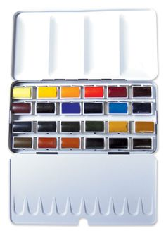 Jacksons : Artist Watercolour : Full Pan : Set of 24 : Pick Your Own Colours