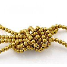 DIY Jewellery Hematite Beads Round Gunmetal 1 Strand 105 (Approx PCs//Strand