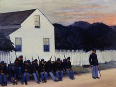 Dawn before Gettysburg(1934) - Edward Hopper