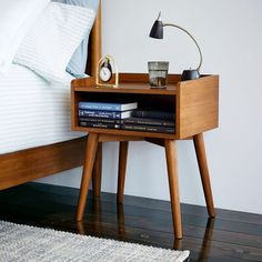 67 Minimalist Bedside Table Lamps Ideas to Makes Your Room Cozier – Dresser Decor Modern Bedroom Furniture, Smart Furniture, Rustic Furniture, Furniture Decor, Furniture Design, Bedroom Decor, Furniture Removal, Kids Furniture, Bedroom Table