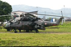NEWS Another Congo Air Force Mi-24 Hind crashes in Rutshuru. While searching for the first helicopter. 4 missing. (27-JAN-2017). @RTLde