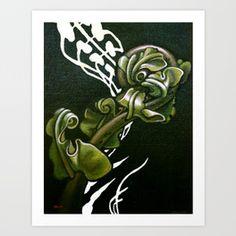 Kiokio - Unfolding Fern Art Print