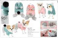 Jogging chien Baby Jumper Pretty Pet - vêtement chien -chihuahua - www.sweetiedog.com - #chihuahua #chien #sweetiedog #dog #fashiondog