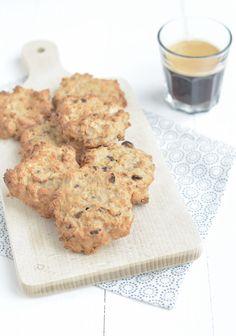 Deze gezonde muesli ontbijtkoeken zijn prima om mee te nemen naar school, of als ontbijt.