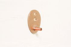 brazed bronze & copper hanger
