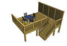 Free Deck Plan 1L069