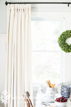 Barn U0026 Willow   Miss Mustard Seedheavy Linen Drapes In Oyster, French  Pleated With Lining · Curtains LivingLinen CurtainsWhite ...