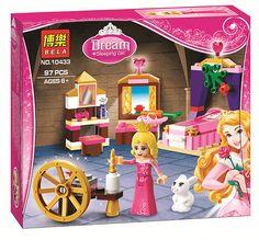 2016 Nouveaux Blocs de Construction BELA Amis Princesse Rêve Sleeping Beauty Maison Modèle Set Chiffres Cadeaux Jouets Compatible Legoe