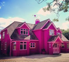 Pink guest house opens in the UK