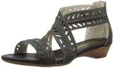 Hush Puppies Women's Panache ANK STP Gladiator Sandal ** To view further, visit now : Women's Flats Sandals