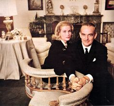 Prince Rainier and Princess Grace photographed by Howell Conant, 1963.