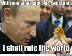 Vladimir Putin is trying to be.....Prussia