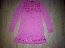 FADED GLORY GIRLS PINK SWEATER DRESS SIZE 10-12 Price: USD 5.5 | UnitedStates