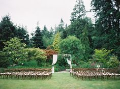 Swooning over this wedding using our Vineyard Chairs!  . . . . . . #wedding #love #ceremony #outdoorwedding #romance #event #weddingdesign