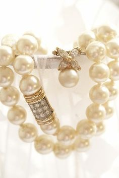 Pearls and Lace by tami
