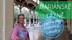Mariánské Lázně! Průvodce městem. Tipy, památky i dobrůtky. Neon Signs, Youtube, Youtubers, Youtube Movies