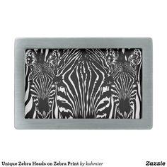 Unique Zebra Heads o