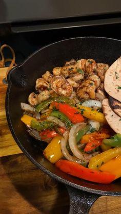 Shrimp Recipes, Mexican Food Recipes, Dinner Recipes, Shrimp Dishes, Low Carb Recipes, Cooking Recipes, Healthy Recipes, Food Cravings, Diy Food