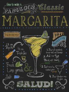 Margarita. Salud!   Crie seu quadro com essa imagem https://www.onthewall.com.br/imagens-mais-vendidas/margarita-chalkboard