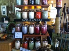 We have new scents from Yankee Candles. Be sure to check out the crackling candles we carry also!