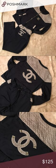 3f4a273fc882 Chanel Sweat suit ❗️Please read❗️good quality