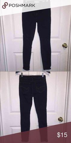 Mid-waist dark blue skinny jeans Mid-waist dark blue skinny jeans Bullhead Jeans Skinny