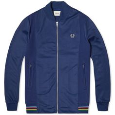 Fred Perry Bradley Wiggins Bomber Neck Track Jacket